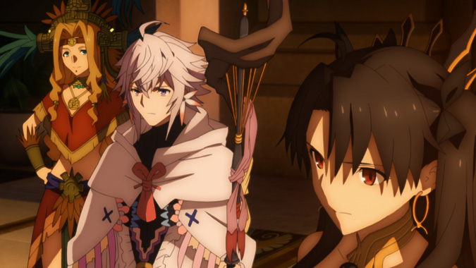 Fate/GrandOrder 絶対魔獣戦線バビロニア 14話|動画